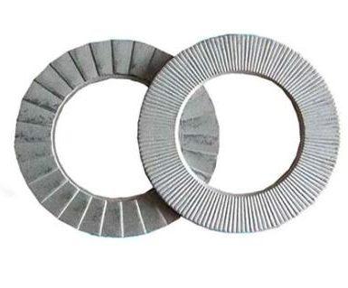 Шайба за заключване на клин DIN 25201
