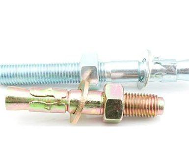 M6 до M20 стоманени анкери от поцинкована стомана