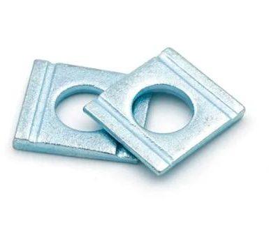 Шайба с квадратна клинова форма от въглеродна стомана
